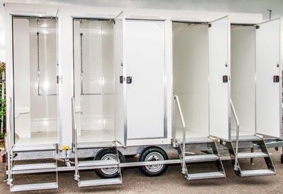 Luxury Shower Trailers